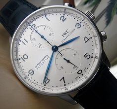 IWC Portuguese Chronograph Automatic - can we talk about those hands?