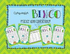 Contractions Bingo Game from OnceUponACreativeClassroom on TeachersNotebook.com -  (14 pages)  - This is the perfect Bingo Game for 3rd, 4th, and 5th graders to practice contractions.  This game consists of 20 slightly different Bingo cards and a call list for the teacher!    Enjoy!