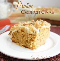 Praline Crunch Cake - Family Table Treasures