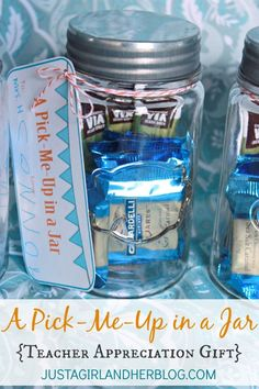 Cute and simple teacher appreciation gift! (FREE printables included!) | Just a Girl and Her Blog