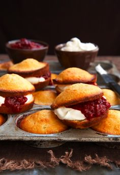 Vanilla Cupcakes with Raspberry.  These look SO good!