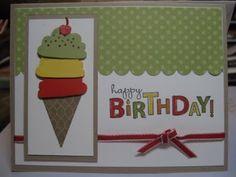 card idea, cake, birthday card, special birthday, happy birthdays