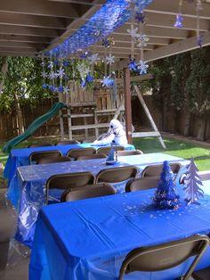 Birthday Parties: Frozen Birthday party