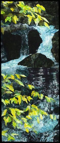 Spring Runoff by Melody Randol - Quilt Artist
