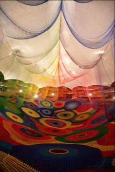 Japanese artist Toshiko Horiuchi-MacAdam is considered one of Japan's leading fiber artists. Japanese artist Toshiko Horiuchi-MacAdam is considered one of Japan's leading fiber artists. 9