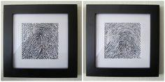 twin, fingerprint art, thumb prints, ring finger, finger print decor, fingerprints, art tutorials, kid, art walls
