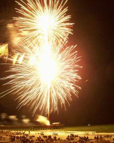 Fireworks on Tybee Island