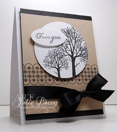 stampin up thank you cards | Stampin Up / thank you card.