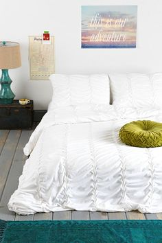 Noodle Origami Duvet Cover-urban outfitters