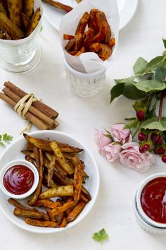 Thai Spiced Baked French Fries