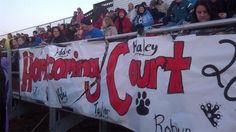 Homecoming at Tri-Valley H.S. Friday night vs. Williams Valley. - 10.12.12