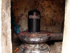 Talakad Sand Dunes Shiva Shrine: The Shiva-linga stands serene and silent.
