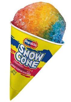 hot summer days, school, snow cones, rainbow snow, rainbows, ice cream, childhood memori, bubble gum, summer treats