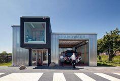 Firestation Houten  by Jeanne Dekkers Architectuur  #firestation #houten  #building