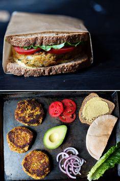 Zucchini Quinoa Burgers - vegan and gluten free.