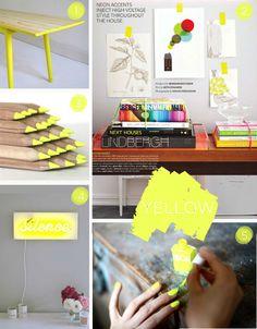 Poppytalk: Inspiration: Neon Summer
