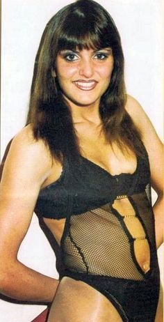 WWE Diva Paige's mom Sweet Saraya back in the day