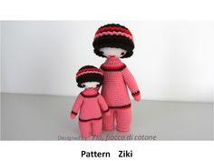 Fia, fiocco di cotone: Ziki and mini - Ziki
