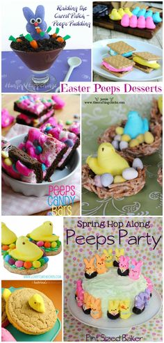 Peeps Desserts for Easter (Collection)