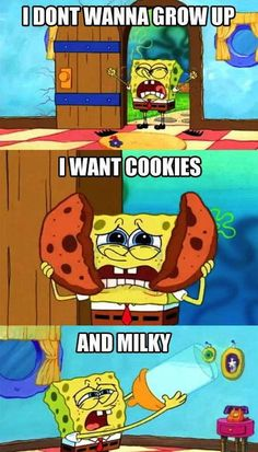 I know, Spongebob. I know.