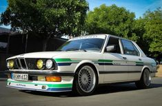 This 1988 BMW 535i (chassis WBADC8406J1724365) has been heavily modified by Manofied Racing using the iconic Alpina B9 as inspiration. It's ...