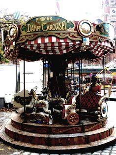 Miniature Carousel . Munich