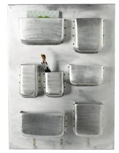 more wall storage ideas...perfect for Jason's man space!