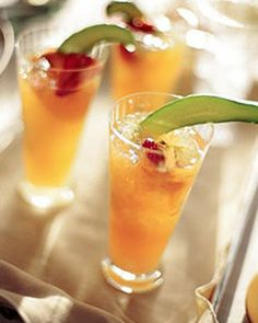 Pimm's Cup Recipe...London nostalgia, thanks Martha Stewart