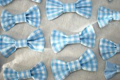 bow ties for little boys at the Bday party