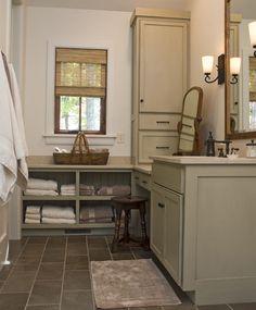 Lakehouse bathroom ideas on pinterest glass showers - Lake house bathroom ideas ...