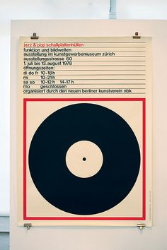 Jazz & pop schallplattenhüllen poster— Markus Bruggisser