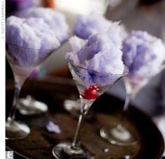 purple cotton candy