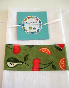 Hanging Dish Towel Hand Towel by MissyMadeWell on Etsy, $8.00