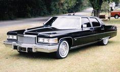 1975 Cadillac Fleetwood - 4 doors