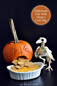 We Know Stuff   Halloween Fun With Mom's Crab Dip   www.weknowstuff.us.com