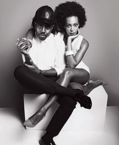 Dev Hynes & Solange Knowles.