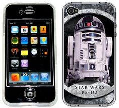 R2-D2 Star Wars Handmade iPhone 4 4S Case