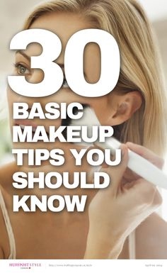 30 Basic Makeup Tips