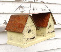 French Country Farmhouse Birdhouse