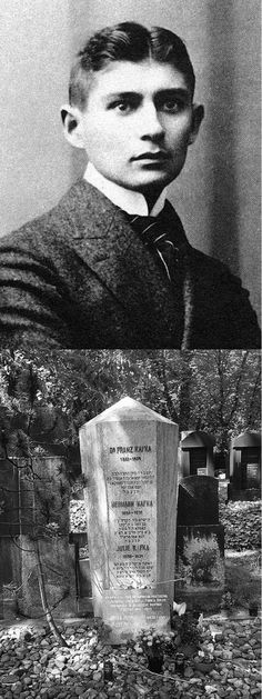 Franz Kafka (3 July 1883 – 3 June 1924). was a German-language writer of novels and short stories, regarded by critics as one of the most influential authors of the 20th century. Kafka strongly influenced genres such as existentialism. His body was brought back to Prague where he was buried on 11 June 1924, in the New Jewish Cemetery in Prague-Žižkov. Kafka was unknown during his own lifetime, but he did not consider fame important. However, he became famous soon after his death.