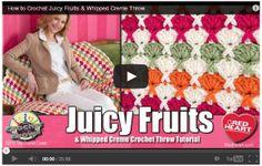 How to Crochet Juicy Fruits