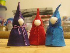felt gnome, gnomes, waldorfinspir gnome, waldorf craft, gnome tutori
