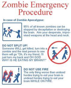 Zombie Emergency Procedure LMAO