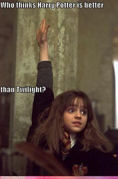 twilight vs potter