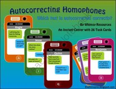 New Product Announcement! Enter for your chance to win 1 of 3.  Homophone Center Intermediate (26 pages) from Whimsy Resources on TeachersNotebook.com (Ends on on 10-6-2014)  My latest center is ready to go for intermediate level. Enjoy!