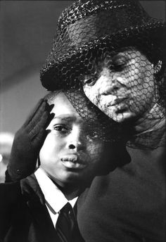 © Bill Eppridge, 1964, Mrs. Chaney and young Ben, James Chaney funeral, Meridian, Mississippi