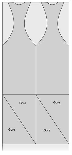 Sideless Surcoat pattern