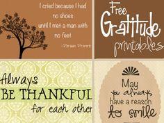 Free Gratitude Printables | The Dating Divas decor, gobbl, fall, collages, free printabl, thanksgiv printabl, gratitud printabl, design, dating divas