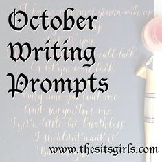 Struggling to come up with blog content? Check out our 30 days of writing prompts for October. It's the perfect list to get you inspired to write.