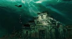 Ancient Chinese City That Lies Beneath A Lake